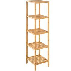 Houten ladder 150 cm wit | Badkamer | Pinterest