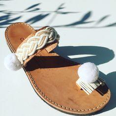 Handmade leather sandals  Follow us in Facebook  Greek Designer