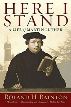 Here I Stand: A Life of Martin Luther by Roland H. Bainton http://www.amazon.com/dp/1426754434/ref=cm_sw_r_pi_dp_uhlnxb05JHXQY