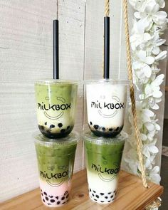 juicing bar,juicing on a budget,juicing for health,juicing weightloss Bubble Tea Shop, Bubble Milk Tea, Dessert Drinks, Yummy Drinks, Yummy Food, Desserts, Boba Drink, Starbucks Drinks, Cafe Food