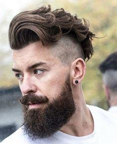 23 Fresh & Stylish Undercut Beards for men 2017