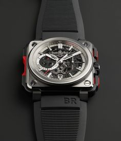 News: Presenting the Bell & Ross BR-X1 Skeleton Chronograph. A Pricey Limited Edition of 250 Pieces. — WATCH COLLECTING LIFESTYLE