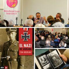 Presentació El Nazi de Siurana, de Toni Orensanz