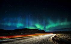 Aurora borealis - Pinned by Mak Khalaf Landscapes NordlichterAurora BorealisIslandcoldicelandskywinter by pixeldreamer_de