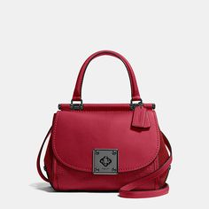COACH Designer Handbags | Drifter Top Handle Satchel In Mixed Leather
