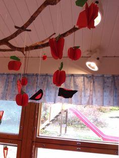 Omenat ja punatulkut