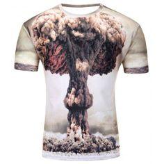 3f7aaa17 Men s Summer Short Sleeve Digital Print 3D T Shirt #Fashion #T-Shirts