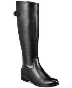 Tommy Hilfiger Dexter2 Wide Calf Tall Riding Boots