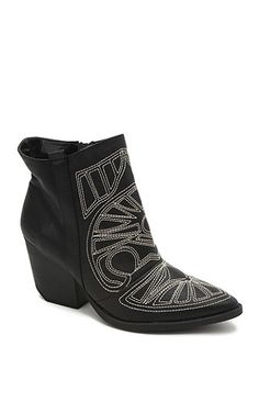 Qupid Embroidered Newton Ankle Boots at PacSun.com
