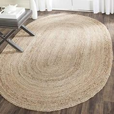 New Safavieh Cape Cod Collection Hand Woven Natural Jute Area Rug x online shopping – Thechicfashionideas – Braided Rugs Natural Fiber Rugs, Natural Rug, Natural Living, Natural Brown, Natural Wood, Design Seeds, Cape Cod, Feng Shui, Casa Hipster