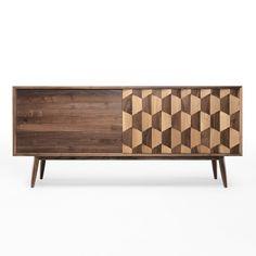 Wewood Scarpa Solid Walnut Sideboard | ww010W | £4,250.00