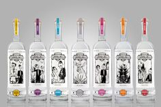 mezcal siete misterios Look closely at these fab #illustration #packaging PD