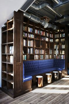 LIBRARY - in Covent Garden, London. Clube privado para a intelligentsia londrina (Foto: Library/divulgação )
