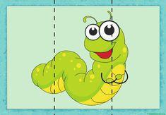 puzzle de oruga Fun Classroom Activities, Animal Activities, Infant Activities, Activities For Kids, Puppets For Kids, Puzzles For Kids, Worksheets For Kids, Montessori Practical Life, Animal Puzzle