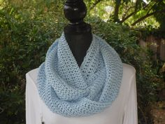 A personal favorite from my Etsy shop https://www.etsy.com/listing/110124117/infinity-eternity-cowl-neck-warmer-loop