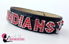 Personalized bracelets and keychains from Charmsations. Custom create your favorite team.Purchase @ http://www.charmsations.com/#oid=1276_1  Like Me at www.facebook.com/blingflingfun