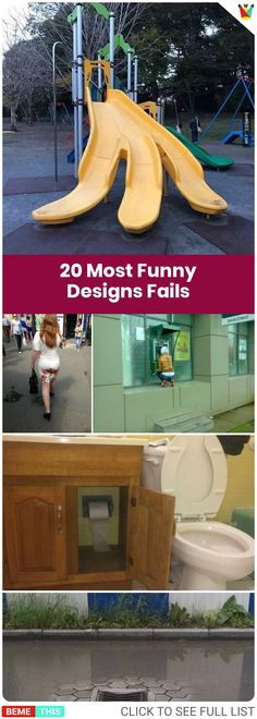 20 of the Most Crappy Designs That are Incredibly Funny #funny #photos #design #fails #list #architecture #funnypictures