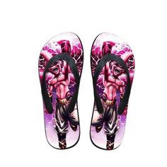 f13280979855 Kid Buu Planet Burst Technique Pink Summer Sandals Flip Flops Shoes  dbz   flipflops