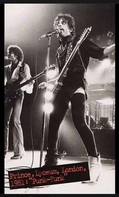 "Andre & P. 1981 at Lyceum, London ""Punk-Funk"""