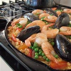 Recipe Picture:Ariana's Seafood Paella