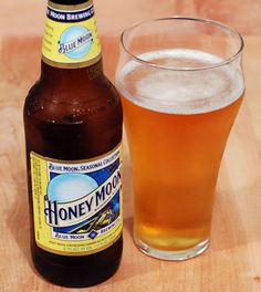 Honey Moon Summer Ale from Blue Moon Brewing Co. Coors Brewing Company, Summer Brew, Blue Moon Beer, Moon Wedding, Grilled Seafood, Beer Brewery, Beer Brands, It's Going Down, Beer Recipes