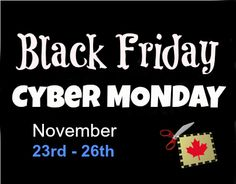 Black Friday and Cyber Monday Deals 2012