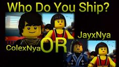 Jay and Nya......Cole is mine plain and simple........ ;)
