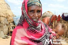 July 26: Today, Somali refugees continue to pour into refugee camps throughout Ethiopia and Kenya, fleeing their homeland due to ongoing drought, food insecurity, and conflict.      Photo: Jaya Vadlamudi/International Medical Corps, Somalia 2011