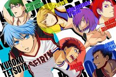Un as en la manga: [Reseña anime] -Kuroko no basket (T 1-2)