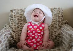Little Girl Pictures, Cute Little Girls, Happy Baby, Happy Girls, Down Syndrome Awareness Day, Down Syndrome Baby, Happiness, Special Needs Kids, Happy Family