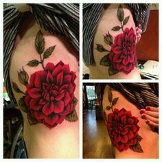 Flower Tattoo by sliafb