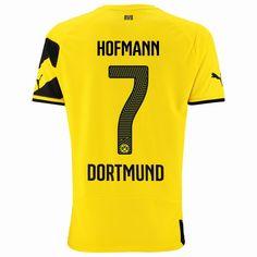 2014/15 Jonas Hofmann 7 Dortmund Home Soccer Jersey shirt