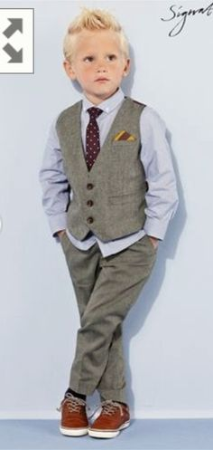 Page Boy Idea For My Wedding More Pageboy Outfits