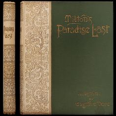 1892 GUSTAVE DORE ENGRAVINGS ILLUSTRATED MILTON'S PARADISE LOST LARGE ART FOLIO