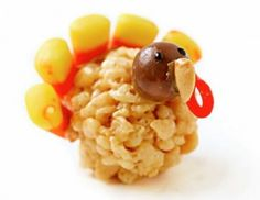 Rice Krispie Thanksgiving Snacks
