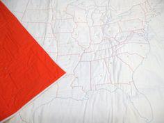 DIY USA Map Quilting Kit - haptic lab