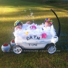 Splish Splash Bath Costumes for Toddlers... Coolest Halloween Costume Contest