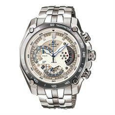 CASIO EDIFICE Mens Chronograph Watch EF-550D-7AV - Blue Products- - TopBuy.com.au