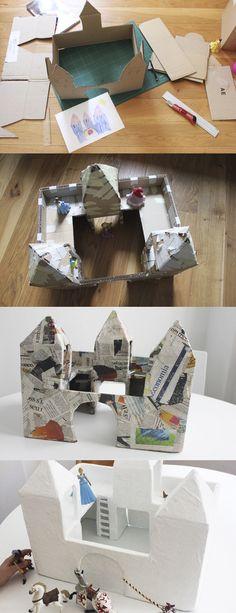 Un gran palau de cartró / Un gran palacio de cartón / Um grande palácio de…