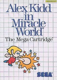 Alex Kidd in Miracle World, Sega Master System
