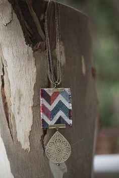 Boho chic bohemian boho style hippy hippie chic bohème Fabric Bracelets, Beach Bracelets, Fabric Necklace, Bohemian Bracelets, Beach Jewelry, Hippie Bohemian, Hippie Chic, Boho Chic, Handmade Jewellery