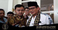 Wakil Gubernur DKI Jakarta Sandiaga Uno menanggapi video intimidasi dari massa #2019GantiPresiden terhadap massa #DiaSibukKerja yang viral di media sosial. Sandiaga Curiga Video Intimidasi dari Massa #2019GantiPresiden Hoaks.