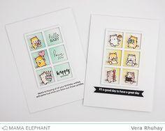 mama elephant | design blog: STAMP HIGHLIGHT : LITTLE CAT AGENDA