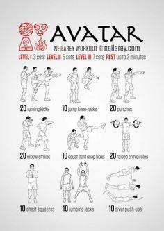 Avatar workout