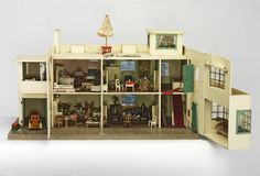 Dolls' house | Lines Bros | V&A Search the Collections