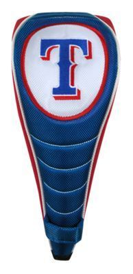 McArthur Sports MLB Shaft Gripper Golf Driver Headcover - Texas Rangers