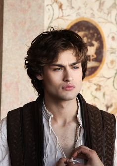 Douglas Booth as Romeo Montague #RomeoandJuliet