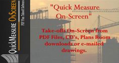 Pin by arka roy on construction world pinterest software quickmeasure onscreen a useful pdf plan takeoff software malvernweather Choice Image