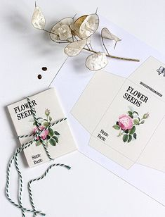 Printable Seed Packets - Reader Featured Project - The Graphics Fairy