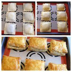 Gourmet by Kat: Pate chaud (Vietnamese puff pastry pie) - Recipes - Pate Recipes, Gourmet Recipes, Cooking Recipes, Vietnamese Cuisine, Vietnamese Recipes, Nem Nuong, Pie Pastry Recipe, Viet Food, Yummy Recipes